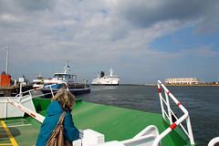 Rostock-Warnemnde - Schiffsverkehr (www.nbfotos.de) Tags: warnemnde hafen schiff rostock fhre mecklenburgvorpommern warnow schiffsverkehr