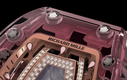 Richard Mille RM 07-02 Pink Lady Sapphire Automatic