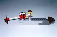 Mekong delta river boat in LEGO (Per Olof Forsberg) Tags: 2001 boat lego vessel can vietnam mekong tho