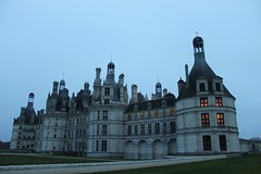The royal Chteau de Chambord at night (jayleahrose) Tags: france de valley chambord loire chteau