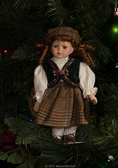 Christmas Tree Memories:  Our Daughter's International Dolls (BrianMorley) Tags: christmas doll christmastree christmasdecoration christmastreedecorations dollsoftheworld internationaldolls