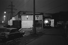 - (s.nikiforov) Tags: street camera blackandwhite bw white black film japan night analog zeiss 35mm lens t moscow rangefinder delta made 400 carl and push konica analogue range finder 800 ilford analogphotography rf urbanistic hexar 2835 biogon zm 35mmlens