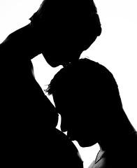Jess&Robin (colinekessler) Tags: baby love silhouette kiss couple ombre amour enceinte bump bisous