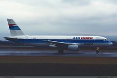 AIRBUS A320 111 AIR INTER F-GGED 015 Bale Mulhouse 1989 (paulschaller67) Tags: air airbus 111 1989 bale 015 a320 inter mulhouse fgged