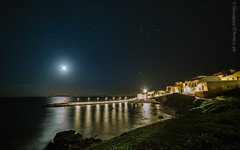 Marettimo - notte stellata ( Peppedam -www.glam.vision) Tags: travel sea night stars landscape islands photo nikon wide sicily notte sicilia isola stelle egadi marettimo giuseppedamico nikond3 samyang14mm