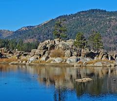 Boulder Bay, Big Bear Lake, CA 4-15 (inkknife_2000 (10 million + views)) Tags: usa mountains landscape lakes skyandclouds mountainlake bigbearlake waterreflections bigbearca boulderbay dgrahamphoto