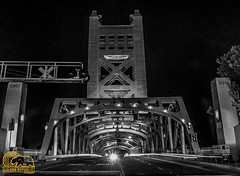 Sacramento Proud (b/w version) (Golden_Republic_Photography) Tags: california blackandwhite bw west tower towerbridge children kings sacramento sacramentoriver sacramentoproud