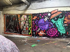 HEMAN & QUAS (ZAP GRAFFITI ARTS LIVERPOOL) Tags: streetart art liverpool graffiti heman quas zapgraffiti