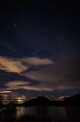 Loch Lomond at Balmaha (Borderli) Tags: stars scotland nightsky lochlomond balmaha