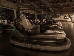 Luna Park 03 (Giulio Gigante) Tags: park street camera leica carnival urban italy game colors ghost luna lunapark festa carnevale dlux giochi abruzzo tristezza giulio francavilla allaperto eccoqua autoscontro typ109 giuliogigante giuliogigantecom