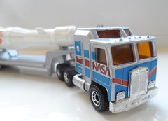 Matchbox Convoys Kenworth NASA Rocket Transporter (ukdaykev) Tags: truck model ebay transport retro nasa lorry rocket convoy matchbox transporter kenworth lesney cabover forsaleonebay cy2
