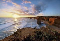 Summer breeze (PhotoArt Images) Tags: ocean sunset summer beach waves australia cliffs 12apostles portcampbell leefilters nikon1424f28 photoartimages