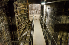Aldwych/Strand station, one of the lift shafts (2014) (Alexander Kachkaev) Tags: uk england london abandoned strand unitedkingdom aldwych legacy thetube tfl liftshaft undergroundstation cityofwestminster hisotric англия lodonunderground