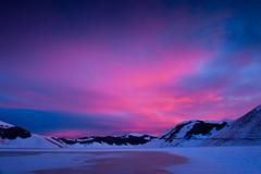 Wonder Castelluccio Stage V (luca_pictures) Tags: gelo italia tramonto nuvole natura cielo neve inverno rosso freddo luce umbria bellezza ghiaccio silenzio vettore tranquillit castellucciodinorcia piangrande
