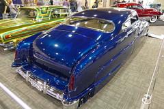1951 Merc 2-door sedan (bballchico) Tags: sedan mercury flames chopped custom stiletto fatboy 1951 merc kustom 2door grandnationalroadstershow timmcnulty extremekustoms gnrs2016