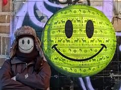 Amsterdam (.UNO) Tags: streetart holland adam pasteup art smile amsterdam yellow neon pattern patterns wheatpaste acid thenetherlands icon kinder urbanart uno smiley pixel netherland 8bit ndsm noord fluo klompen amsterdamnoord ndsmwerf nsdm streetartamsterdam amsterdamcity amsterdamstreetart nsdmwerf idontcareaboutuno