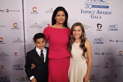 Andrea Navedo at the National Hispanic Media Council 2016 Impact Awards