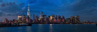 NYC Sunset Pano