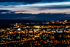 All The Lights - Cleeve Hill, Gloucestershire. (Jeremiah Huxley Productions) Tags: england gloucestershire cheltenham cleevehill