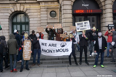 Wrok ( Spite) (Red Cathedral is alive) Tags: march mask cosplay sony protest guyfawkes vforvendetta alpha banners anonymous groupshot gent resistance resist larp manifestation gunpowderplot occupy eventcoverage sonyalpha mirrorless a6000 millionmaskmarch leftwingdemonstration opawakening