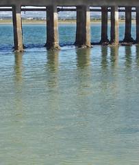 Harmony (Helena S.) Tags: sea reflections ria riaformosa