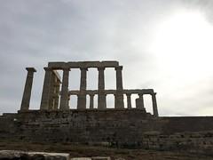 Temple of Poseidon (37.7750° N, 122.4183° W) Tags: greece athens greekvacation acropolis parthenon museum syntagma square afina afiny афины афіни атени anaithin anàithne ateena aten אַטען atena atėnai atenas tagalog atēnas atene アテネ 아테네 atenes ateni աթենք atenk ateno ateny atény athen athén aþena athenae athene athènes athény αθήνα atina atīnā атина אתונה 雅典 hotel grand bretagne ancient historic history greek monument statue civilization westerncivilization aristotle agora cape sounion