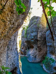 Beneath the Surface (Laulik) Tags: water rock spain colorful under ronda mlaga