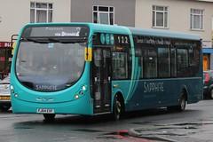 Arriva Midlands North Wright Streetlite 3304 (FJ64 EVF) (Cannock) (john-s-91) Tags: 3304 bloxwich arrivamidlandsnorth wrightstreetlite cannockroute2 fj64evf