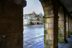 Arches and opera. (sidibousaid60) Tags: uk buxton derbyshire arches operahouse hdr lightanddark photomatix