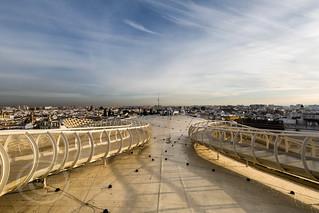 Seville Jan 2016 (5) 447 - Around and about the Metropol Parasol in Plaza de la Encarnacion