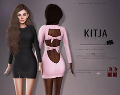 KITJA - Lavinia Dress (ᴋɪᴛᴊᴀ) Tags: fashion secondlife physique hourglass maitreya slink kitja fameshed fittedmesh