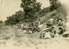 CMTC students at machinegun practice, Aug1927 (Old Guard Museum) Tags: old guard practice machinegun fortsnelling cmtc m1917 3rdinfantryregimentthe