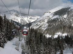 Sky ride (Nogatron) Tags: mountain canada ski cablecar banff sunshinevillage 2016