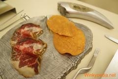 50 Days_curated rubia gallega_regana bread_tea butter (Winkypedia.net) Tags: hotel cafe oscar wilde albert royal days 50 adri adria ferran