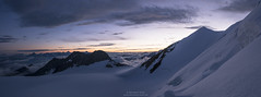 Dawn Panorama with Balfrin and Ulrichshorn (Bernhard_Thum) Tags: panorama alps nature dawn earlymorning legacy wallis berneroberland bietschhorn thum ulrichshorn balfrin landscapesdreams bernhardthum sonyrx100ii