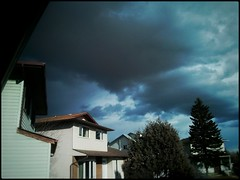P365_75_March_Is_On_Its_Way (Christian Saunders) Tags: sky storm calgary approaching project365