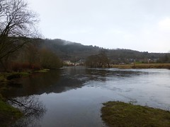 Eas Gobhain in flood, Callander (luckypenguin) Tags: winter river scotland stirling perthshire callander teith easgobhain