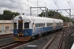 ML070 at Cronulla. (Free Rail Photography.) Tags: train state diesel sydney rail railway australia class testing railcar nsw passenger shire sutherland cronulla sra cityrail railmotor nswgr 620720 railcorp ml070