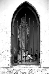 IMG_8244 ( Lettie Photography ) Tags: blackandwhite bw monochrome statue blackwhite catholic noiretblanc monochromatic nb christian noirblanc catholique bnwsociety bnwlife bnwadd bnwmagazine bnwaddicted thevirginmay