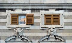 Genova windows (poludziber1) Tags: street city summer italy window architecture colorful italia challengeyouwinner