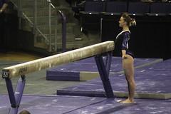 Allie Northey beam (6) (Susaluda) Tags: uw sports gold washington university purple huskies gymnastics dawgs