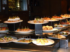 Tapas (Toats Master) Tags: barcelona food buildings spain tapas lasramblas
