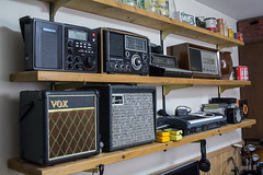 Man-Cave Collection (Richard Pierik) Tags: n panasonic harmony vox grundig radios amplifiers