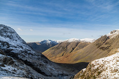 Lake District Feb 2016 (2) 406 - Wasdale Head from the Corridor Route (Mark Schofield @ JB Schofield) Tags: winter england sky cliff brown lake snow mountains green english ice water rock high allen path top district sca piers great lakes scenic peak hills ill national bow cumbria fells trust end summit moors pike broad gill tarn crags base fell cairn gable hause wast wasdale esk ghyll seathwaite honister lingmell styhead glaramara stonethwaite mountainspark branstree
