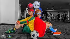 Inazuma Eleven x #AnimaxACMY #ACMY2016: 015 (FAT8893) Tags: carnival cosplay malaysia eleven sans mamoru 2016 animax inazuma endou yuuto kidou undertale acmy2016 animaxacmy