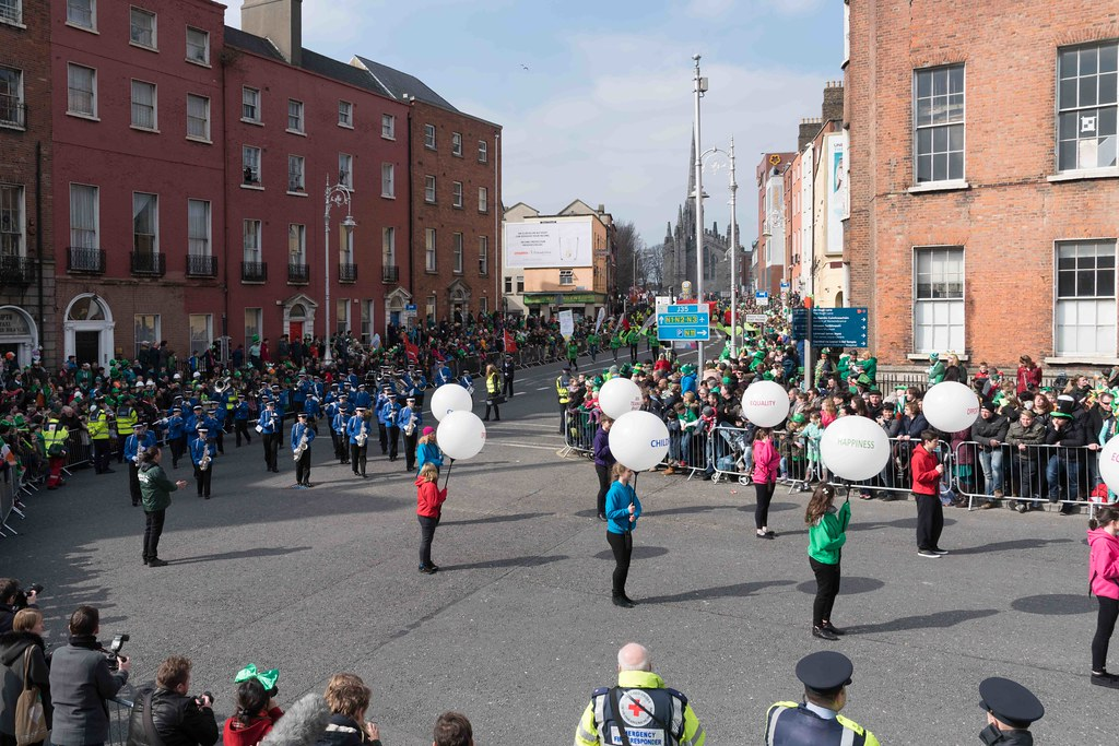 ESSEX MARCHING CORPS FROM THE UK [ST. PATRICK'S PARADE DUBLIN 2016]-112621