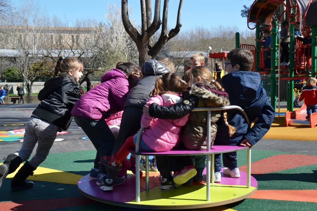Réouverture de l'aire de jeux Les Pitchoun - 09/03/2016