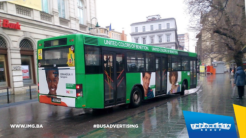 Info Media Group - Benetton, BUS Outdoor Advertising, Sarajevo 03-2016 (5)