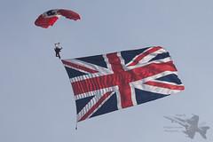 Red Devil (Newdawn images) Tags: aviation airshow reddevil shuttleworth parachute parachuteregiment airdisplay reddevils shuttleworthcollection oldwarden canonef70200mmf4lisusm canoneos5dmarkii parachutedisplayteam