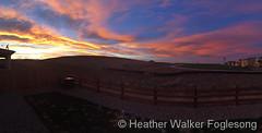 April 6, 2016 - A stunning sunset sky. (Heather Walker Foglesong)